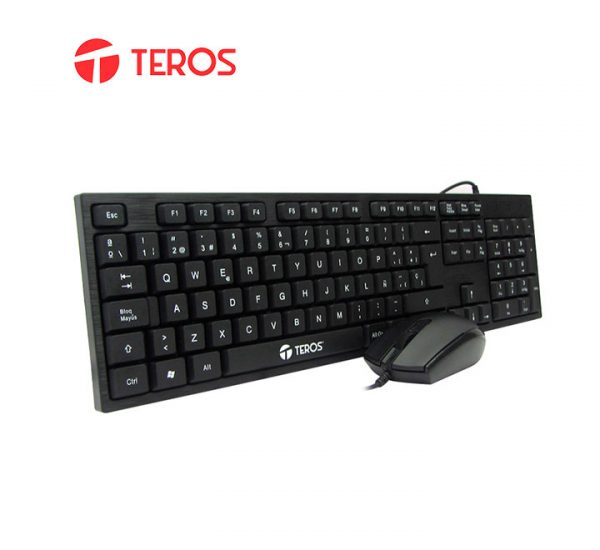 KIT TECLADO Y MOUSE TEROS TED8700
